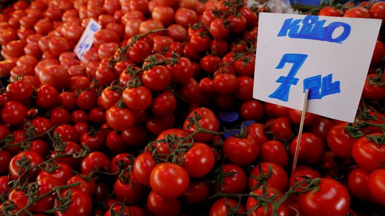 DS: мандарины, томаты, лимоны — Россия вышла на первое место по закупкам овощей и фруктов в Турции