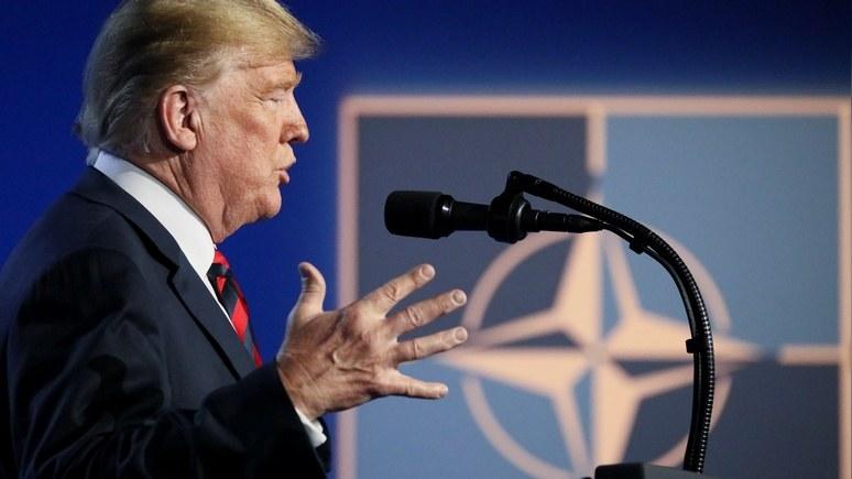 Times: меркантильное отношение Трампа к НАТО подрывает американское величие