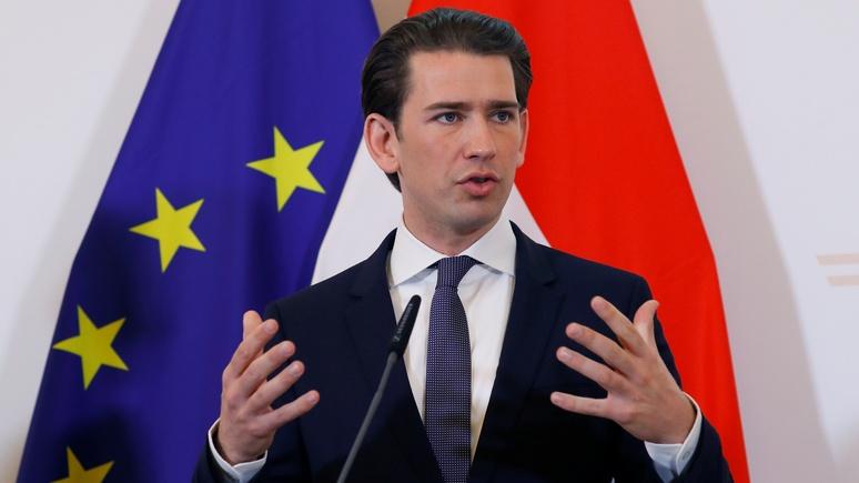 Канцлер Австрии: сытому, самодовольному и инертному ЕС не хватает воли к лидерству