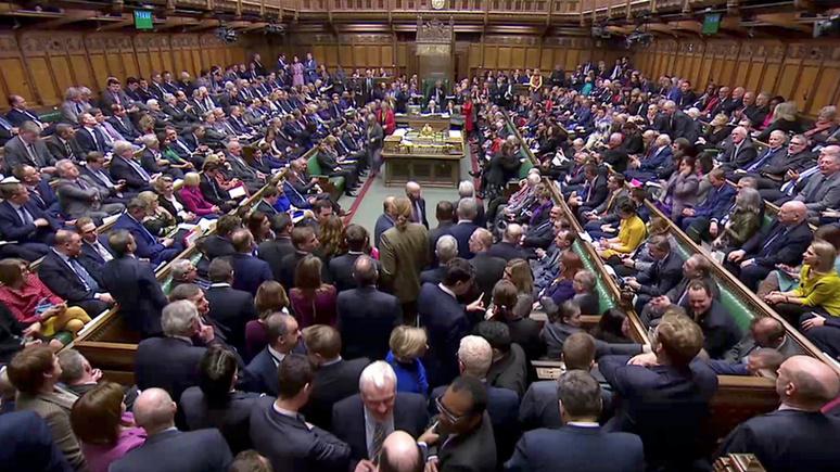 Guardian: британский парламент проголосовал за отсрочку брексита