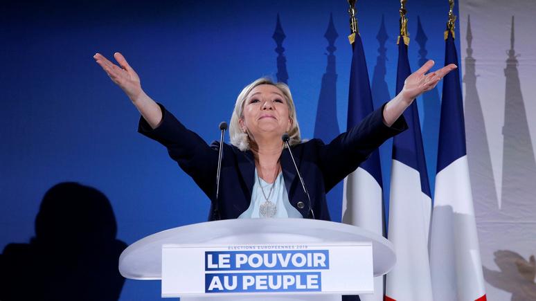 Libération: на выборах в Европарламент Ле Пен намерена взять реванш за президентскую гонку