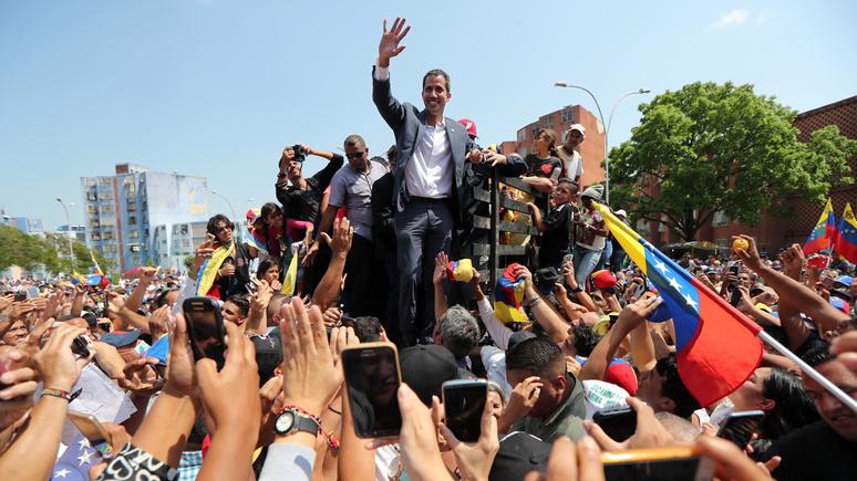 El Mundo: Гуаидо отправился в турне по Венесуэле за поддержкой народа