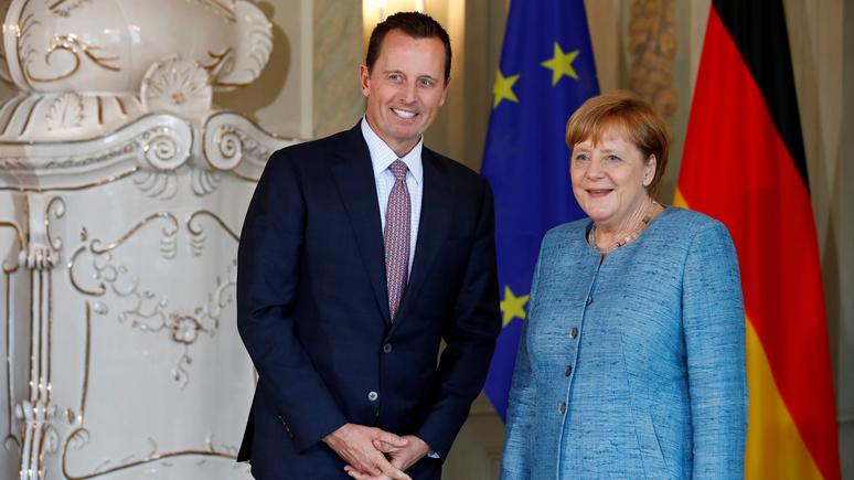 Депутат бундестага: посол США ведёт себя как комиссар страны-оккупанта