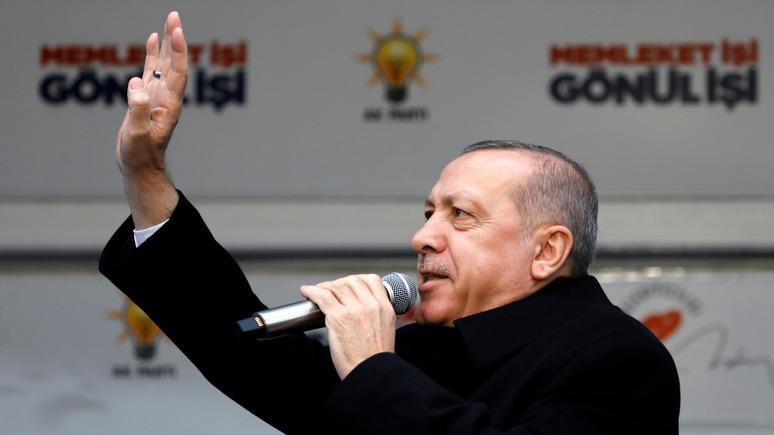 The Times: Эрдоган пообещал отправить врагов Турции домой в гробах