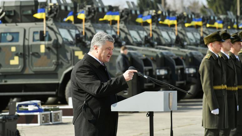 Порошенко: военные НАТО регулярно приезжают набираться опыта у ВСУ