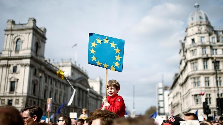 Спасибо за брексит: Welt поблагодарила Британию за шанс оправдать существование ЕС