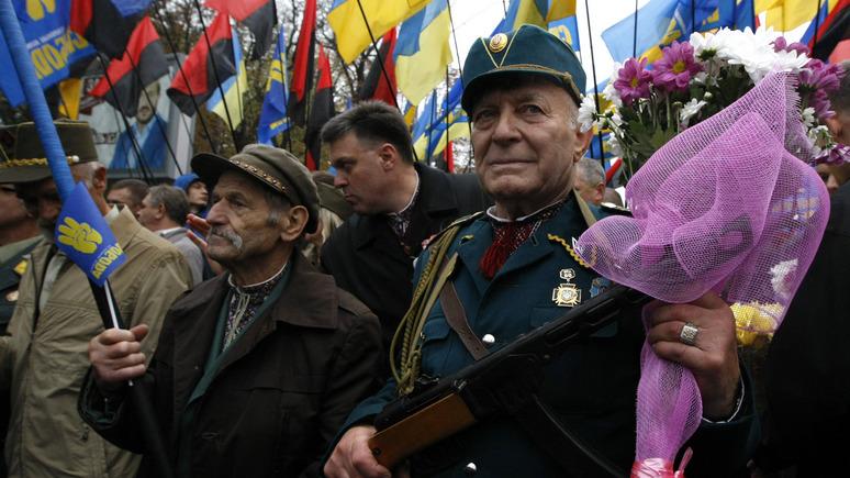 Главред: на Украине признали представителей УПА участниками боевых действий