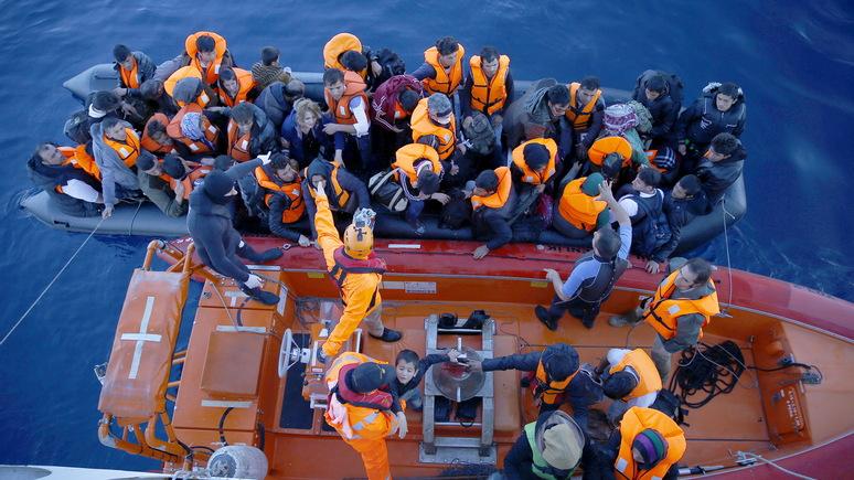 Zeit: угнанный беженцами танкер задержан мальтийскими ВМС