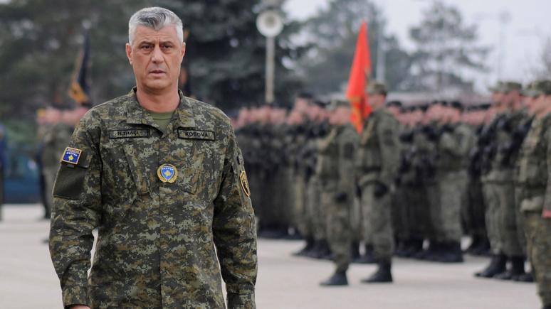 Standard: уступчивость президента Косова по отношению к Сербии объяснили его былыми военными преступлениями