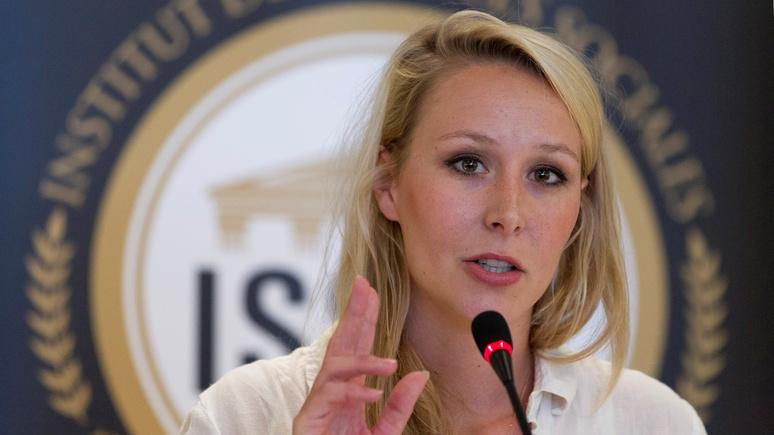 Le Figaro: вместо Ле Пен на экономический форум в Крым приедет её племянница