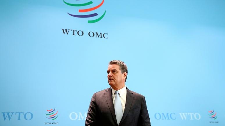Bloomberg: глава ВТО дал понять, что торговая сделка между США и Китаем может не устроить членов организации