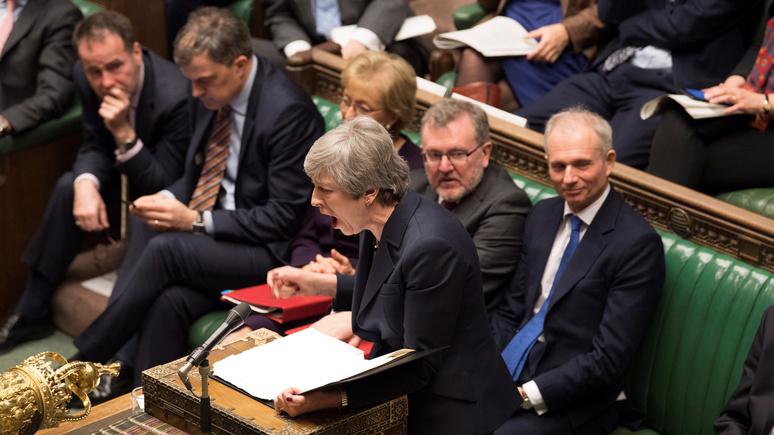 Bild: брексит превратил британский парламент в «шабаш психических расстройств»