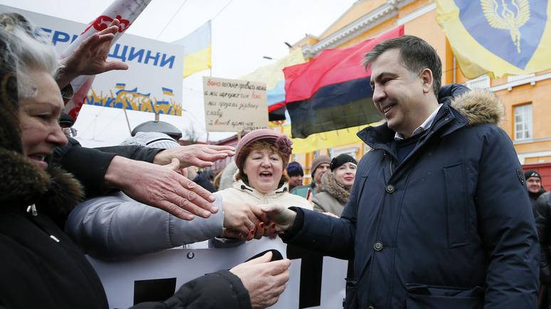 СТРАНА: Саакашвили «взял Порошенко на слабо» и потребовал вернуть украинский паспорт