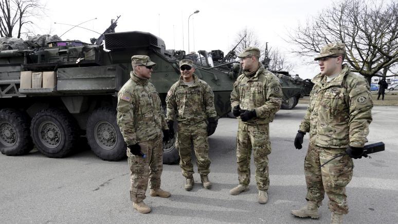 ERR: в Эстонии начинают спецпланировку полигона для манёвров бронетехники НАТО