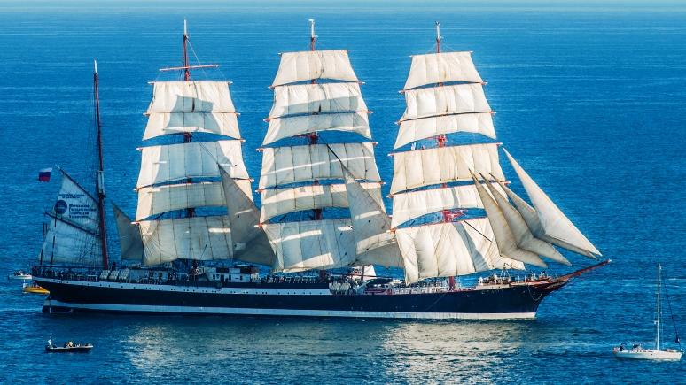 ERR: Эстония не пропустила крупнейший в мире учебный парусник «Седов» из-за крымских курсантов