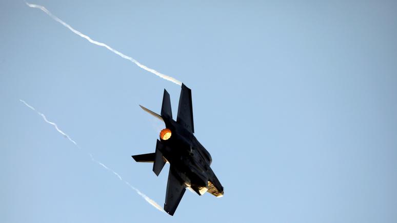IBT: упавший в Тихий океан японский F-35 беспокоит американцев — его могут отыскать Китай или Россия