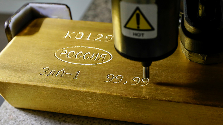 BFM Business: ЦБ закупает золото, чтобы противостоять доллару
