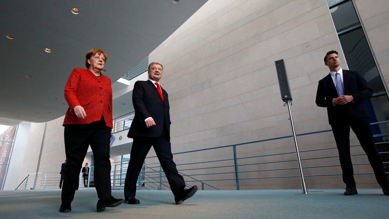 Deutsche Welle: Ангелу Меркель обвиняют в попытке повлиять на украинские выборы