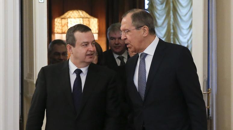 Глава МИД Сербии: мы не сможем защитить свои интересы без помощи России