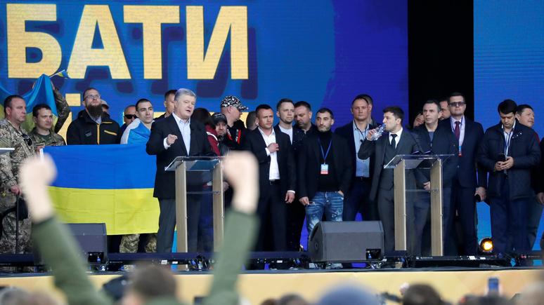 Bild о президентских дебатах на Украине: «Шоколадный король против клоуна»