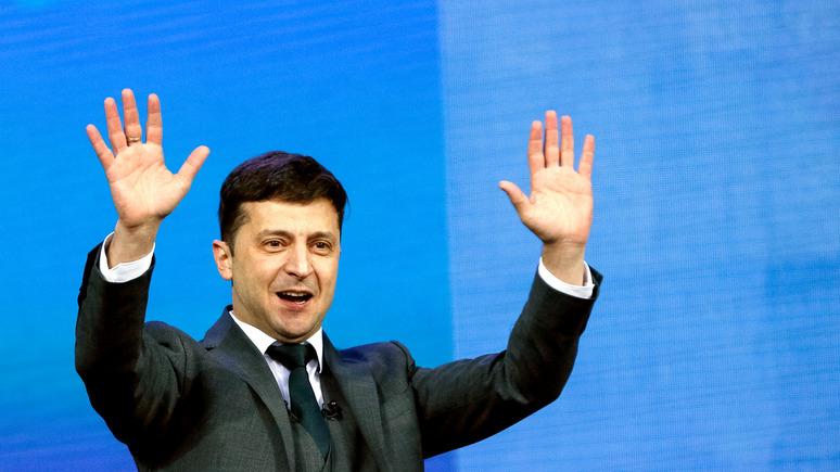 Экзитпол: Зеленский побеждает Порошенко с огромным отрывом