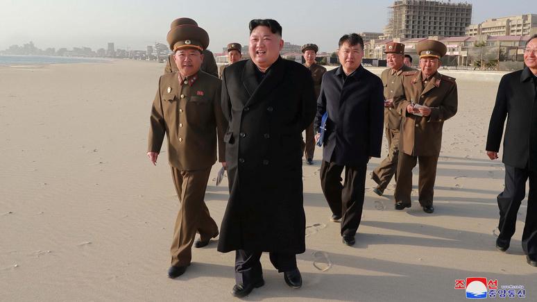 Nikkei Asian Review: встреча с Путиным нужна Ким Чен Ыну, чтобы противостоять давлению США