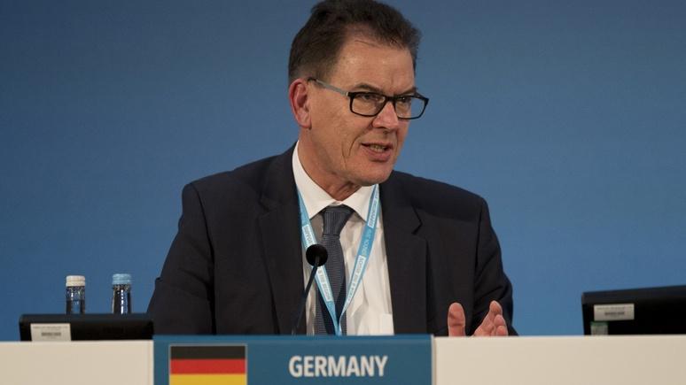Das Erste: немецкому министру пришлось отменить визит в Волгоград из-за очередных проблем с самолётом
