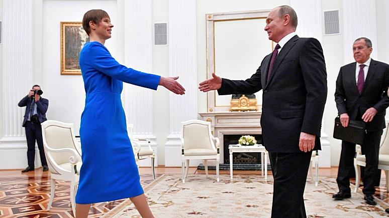 Кальюлайд: прямой разговор с Путиным делает Эстонию «настоящим государством»