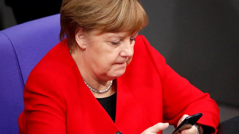 Spiegel: Меркель пригласила Зеленского в Германию