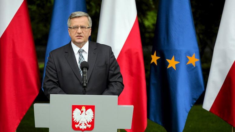 Экс-президент Польши: интеграция с Москвой всегда плохо для нас заканчивалась
