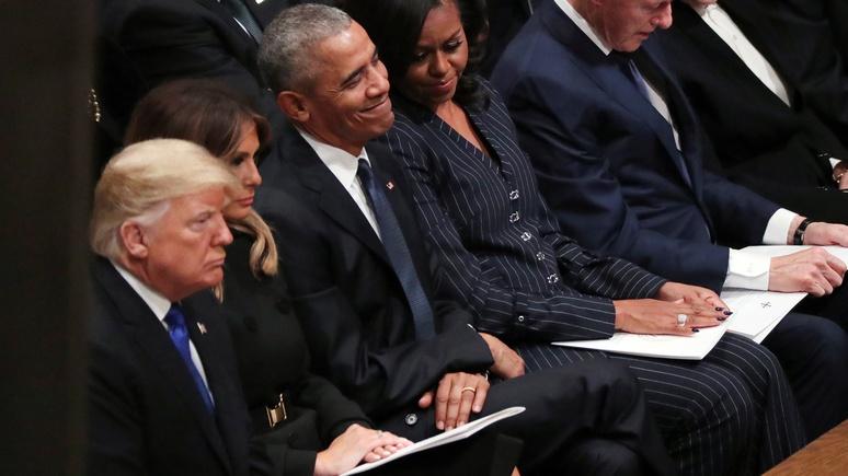 Bild: компания Обамы сделает сериал по книге, критикующей Трампа