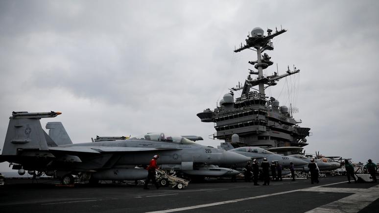 Time: ВМС США просили кибероружие, а Трамп дал им старый авианосец