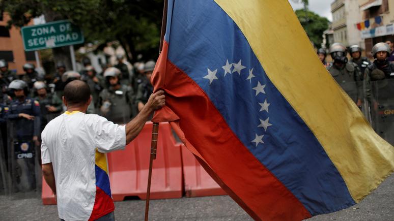 Dagens Nyheter: судьбу Венесуэлы решат великие державы