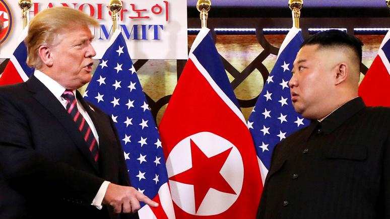 Die Welt: холодная «война слов» между Пхеньяном и Вашингтоном попахивает пожаром