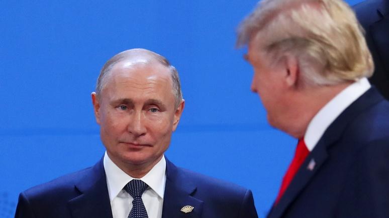 Washington Times: ни Путин, ни Трамп не могут себе позволить отступить по вопросу Венесуэлы