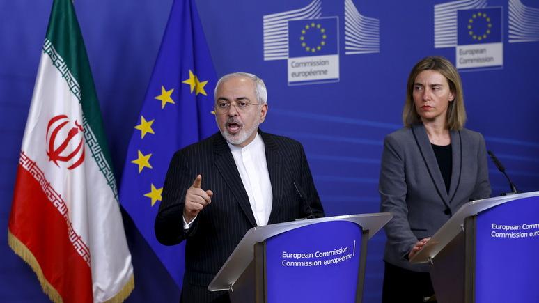 Handelsblatt: Европа должна поддержать Иран, чтобы избежать новой войны в Заливе