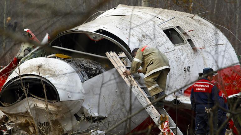 Замминистра культуры Польши: Россия относится к обломкам польского Ту-154м как к военному трофею
