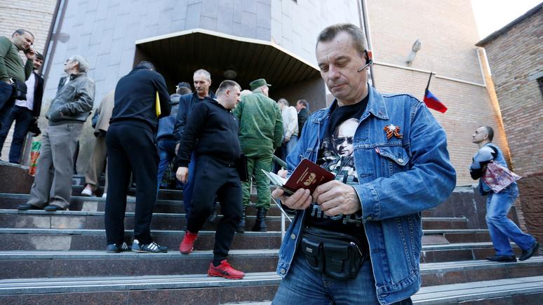 RP: в паспортном споре с Москвой Киев рассчитывает на санкции Берлина