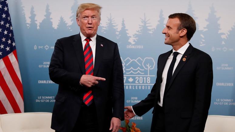 BuzzFeed: из-за разногласий с Трампом на саммите G7 впервые может не быть совместного заявления