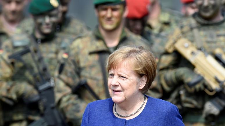 WAZ: в образ военачальницы Меркель вжилась с расчётом, что её послание до Путина и Трампа всё-таки дойдёт