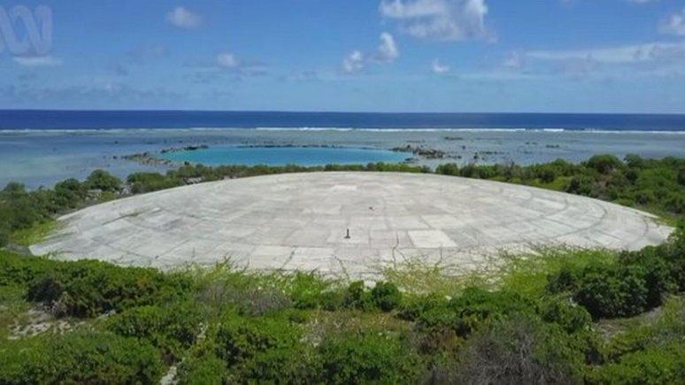 WP: разрушение «ядерного гроба» США угрожает загрязнением Тихому океану