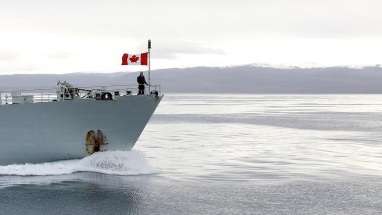 CTV: в последнюю минуту Канада вмешалась в борьбу с Россией и Данией за арктическое наследие