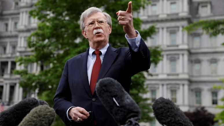 CBS NEWS: у Болтона нет сомнений — за нападениями на нефтяные танкеры стоит Иран