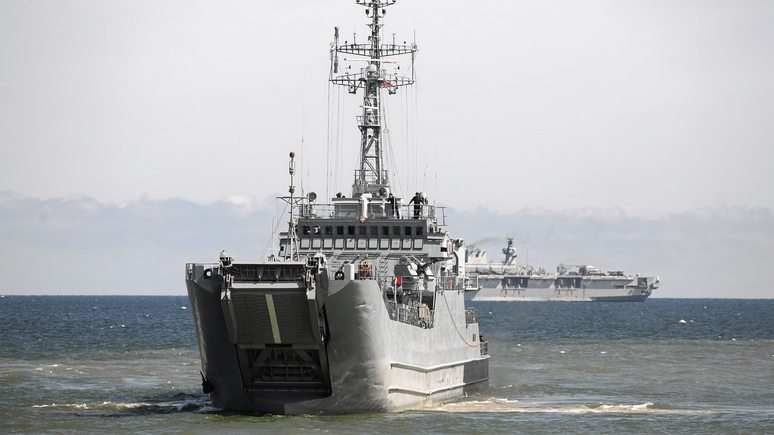 Daily Express: корабли НАТО посылают Путину сигнал из Балтийского моря