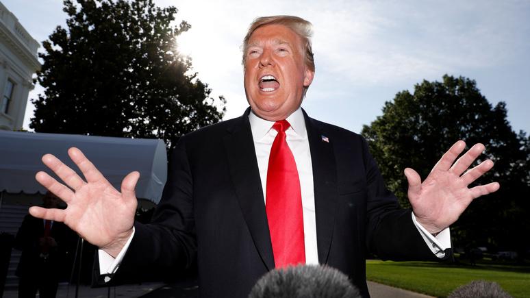 Vanity Fair: Трамп случайно признал правду, а потом вернулся в свою альтернативную реальность