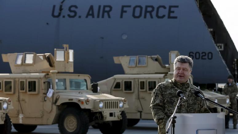 Defense News: США хотят вооружить Украину для сдерживания России