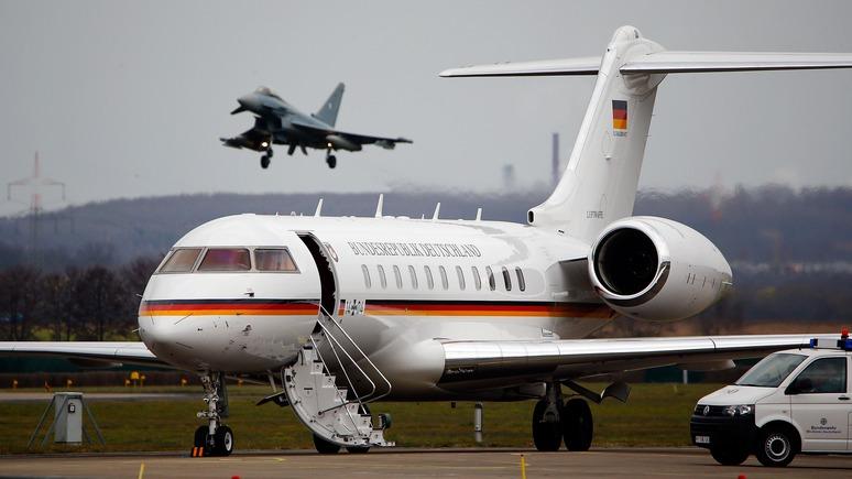 Welt: власти Германии заподозрили саботаж за поломками правительственных самолётов