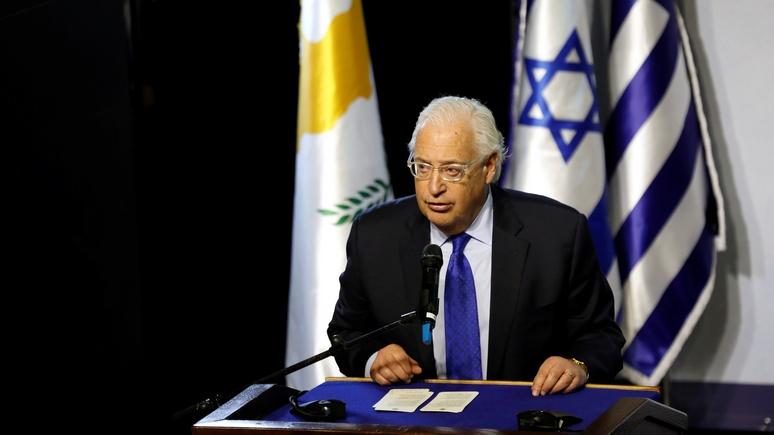 NYT: посол США заявил о праве Израиля аннексировать часть Западного берега реки Иордан