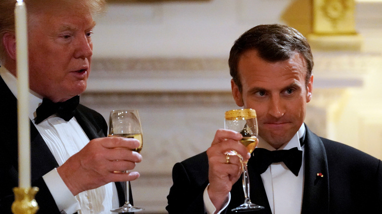 L'Obs: Трамп вновь заговорил о поднятии пошлин на французское вино