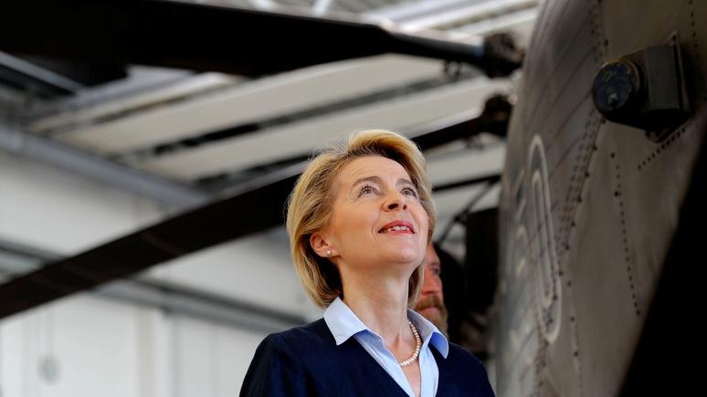 Welt: в ногу со временем — немецкий бундесвер возлагает большие надежды на «оружие будущего»